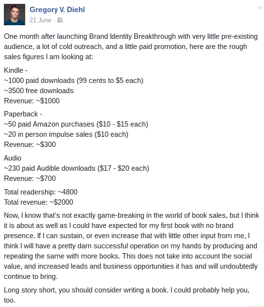 Brand Identity Breakthrough First Month Stats
